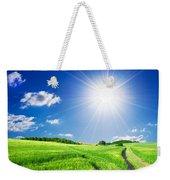 Summer Rural Landcape Weekender Tote Bag