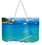 Summer Sailing In The Med Weekender Tote Bag