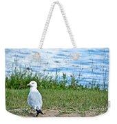 Summer Sea Gull Weekender Tote Bag