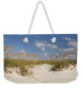 Summer Sea Oats Weekender Tote Bag
