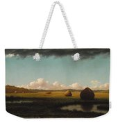 Summer Showers Weekender Tote Bag by Martin Johnson Heade