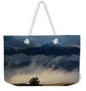 Summer Snow Weekender Tote Bag