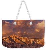 Summer Storm Clouds Over The Eastern Sierras California Weekender Tote Bag