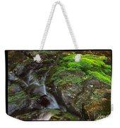 Summer Stream Waterfall Weekender Tote Bag