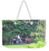 Summer Stroll Weekender Tote Bag by Elizabeth Dow