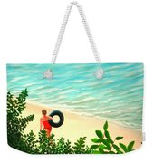 Summer Swim Weekender Tote Bag