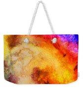 Summer Swirl Weekender Tote Bag by Pixel Chimp
