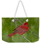 Summer Tanager Male Weekender Tote Bag