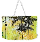 Summer Time In The Tropics By Madart Weekender Tote Bag
