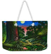 Summer Twilight In The Forest Weekender Tote Bag