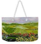 Summer Valley Weekender Tote Bag