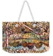 Summer Water Weekender Tote Bag