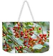 Summer Wild Berries Weekender Tote Bag