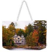 Summerhome On A River Weekender Tote Bag