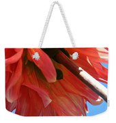 Summer's End Dahlia Weekender Tote Bag