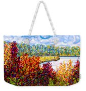 Summer's End Weekender Tote Bag by Mandy Budan