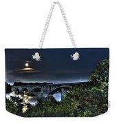 Summer's Full Moon Weekender Tote Bag
