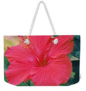 Summer's Last Hibiscus Weekender Tote Bag