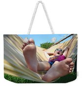 Summertime And The Livin' Is Easy Weekender Tote Bag by Laura Fasulo