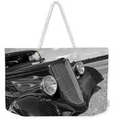 Summertime Blues In Black And White - Ford Coupe Hot Rod Weekender Tote Bag