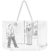 Summertime, Chief, An' The Livin' Is Easy Weekender Tote Bag