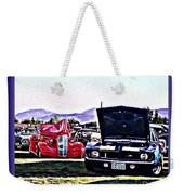 Summertime Class Car Show Weekender Tote Bag