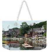Summertime On Boathouse Row Weekender Tote Bag