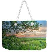 Summertime Sunset Weekender Tote Bag