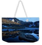 Summit Lake Calm Weekender Tote Bag