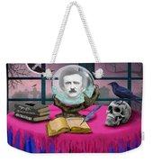 Summoning Edgar Allan Poe Weekender Tote Bag