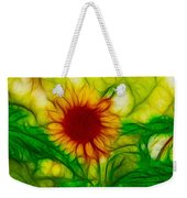 Sun And A Flower Weekender Tote Bag