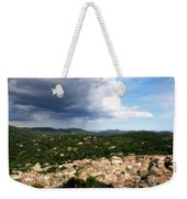 Sun And Rain Weekender Tote Bag by Lainie Wrightson