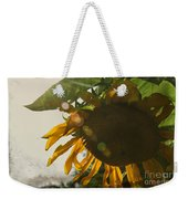 Sun And Sunflower Weekender Tote Bag