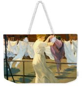 Sun And Wind On The Roof Weekender Tote Bag