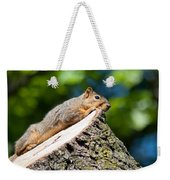 Sun Basking  Weekender Tote Bag by Optical Playground By MP Ray