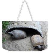 Sun Basking Turtles Weekender Tote Bag