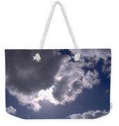 Sun Behind The Clouds Weekender Tote Bag
