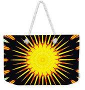 Sun Burst Weekender Tote Bag