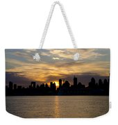 Sun Comes Up On New York City Weekender Tote Bag