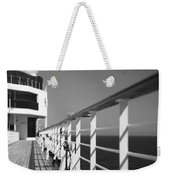 Sun Deck Shadows Weekender Tote Bag
