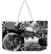 Sun Fish Tomato Chevy Weekender Tote Bag by Genevieve Esson