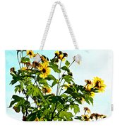 Sun Flowers In The Sun Weekender Tote Bag
