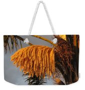 Sun Glowing Palm Weekender Tote Bag
