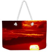 Sun In Descent Weekender Tote Bag