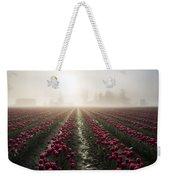 Sun In Fog And Tulips Weekender Tote Bag