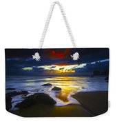 Sun Is Setting Weekender Tote Bag