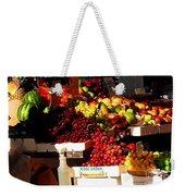 Sun On Fruit Close Up Weekender Tote Bag