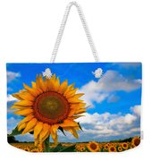 Sun On My Face Weekender Tote Bag