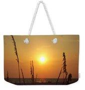 Sun Over The Ocean Weekender Tote Bag