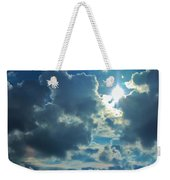 Sun Peeping Out Weekender Tote Bag